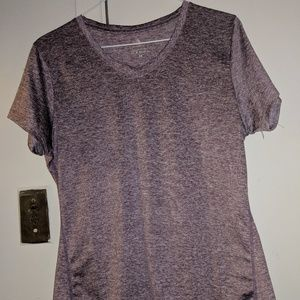 ICYZONE Purple Workout Shirt